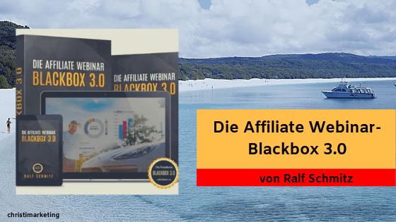 Die Reviews zur Affiliate Webinar Blackbox 3.0