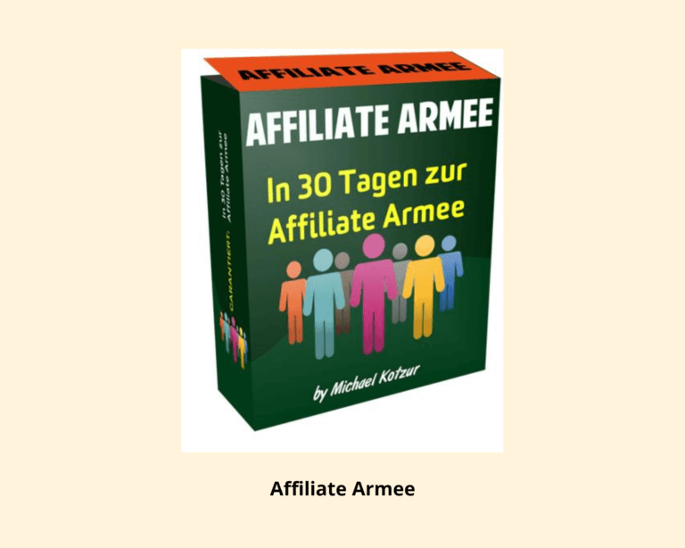 Online Marketing Affiliate Armee