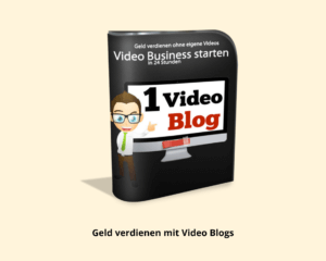 1 € Videokurs - Online Marketing Geld verdienen mit Video Blogs