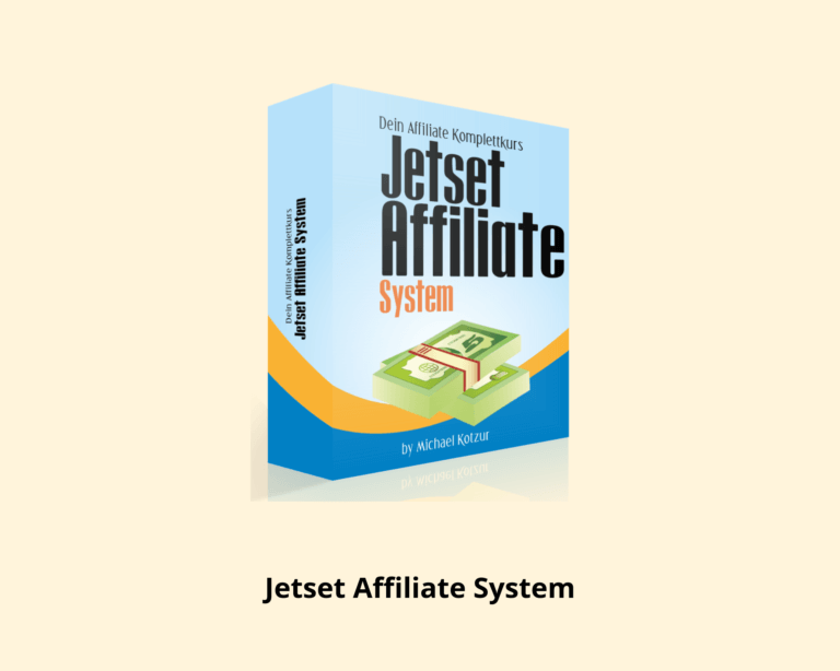 Online Marketing Jetset Affiliate System