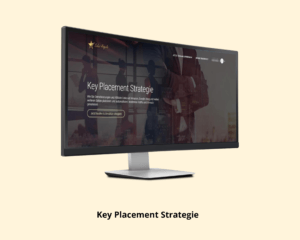 Online Marketing Key Placement Strategie