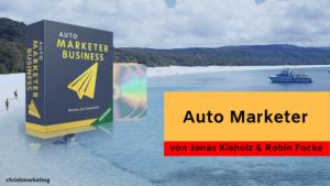 Die Reviews zum Auto Marketer