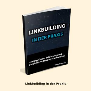 Claas Schaefer, Linkbuilding in der Praxis