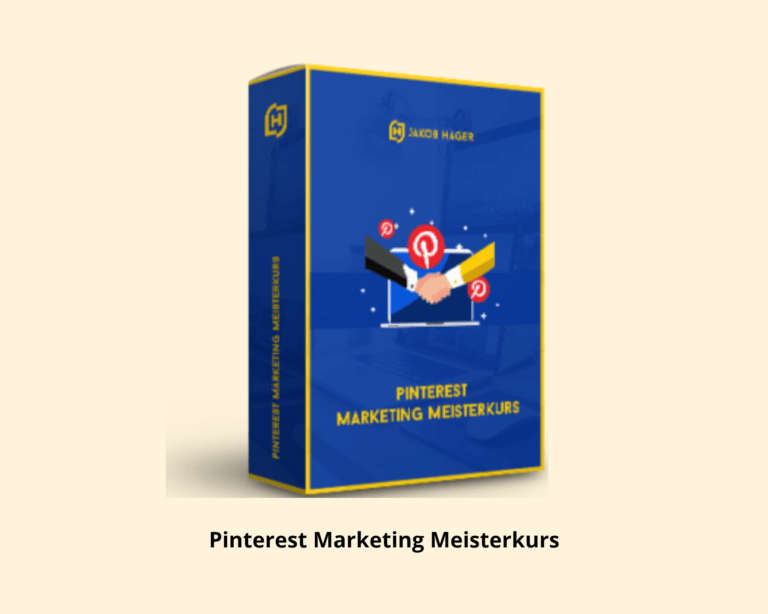 Pinterest Marketing Meisterkurs