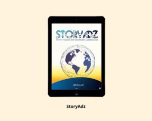 Tablett mit StoryAdz