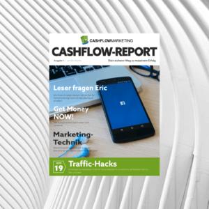 Der Cashflow Report von Eric Promm rund um das Thema Online-Marketing