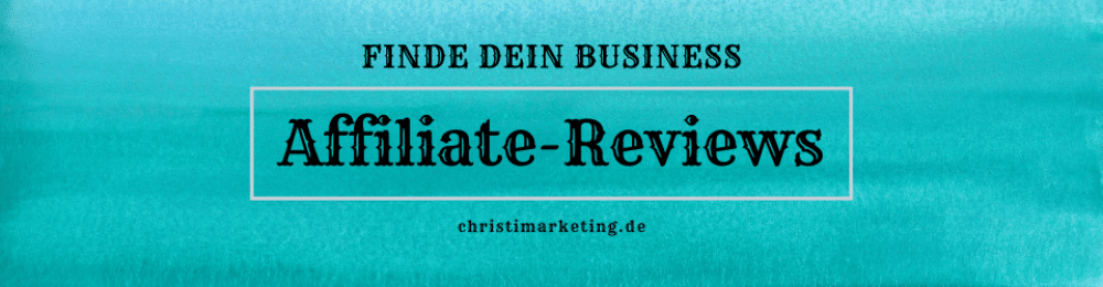 Affiliate Reviews digitalen Infoprodukten