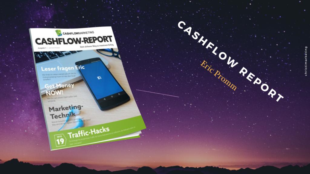 Der Cashflow Report im Review digitalen Infoprodukten