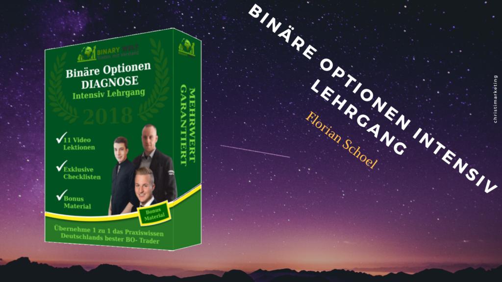 Binäre Optionen intensiv Lehrgang im Review digitalen Infoprodukten
