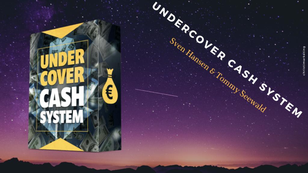 Das Undercover Cash System im Review digitalen Infoprodukten